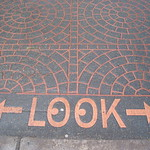 a sign says: Look Both Ways