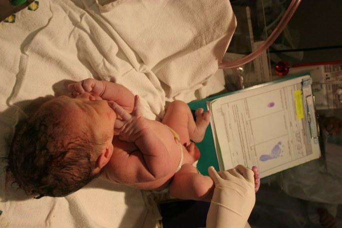 The birth of baby aidan4