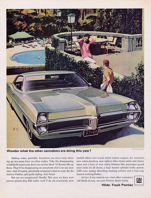 1967 Pontiac Bonneville Wide-Track