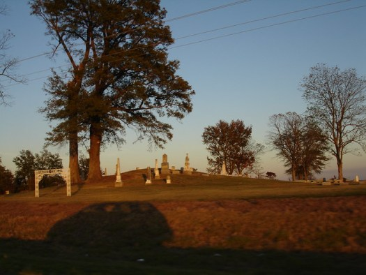Barbee Cemetery on Indian Mound,Coahoma County MS