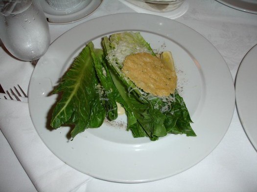 Caesar Salad from Capitol Grille at The Hermitage Hotel, Nashville TN