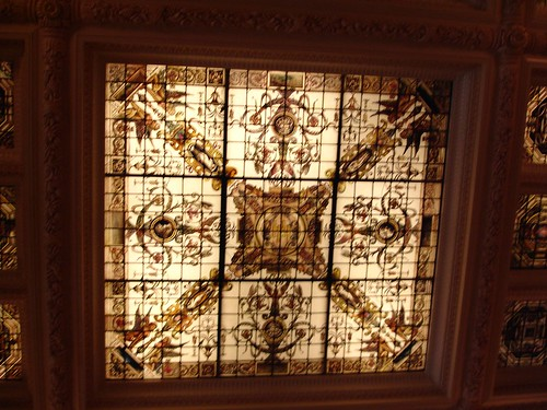 Skylight in Lobby, The Hermitage Hotel, Nashville TN