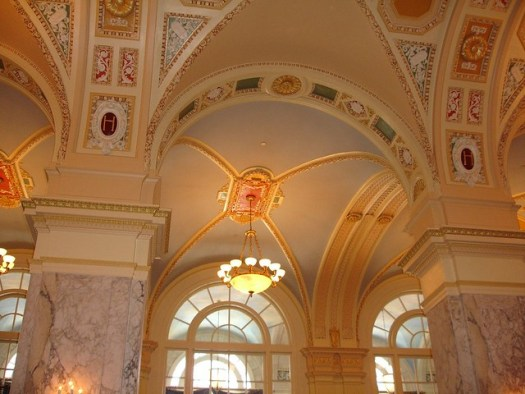 Lobby Archway and Ceiling, The Hermitage Hotel, Nashville TN