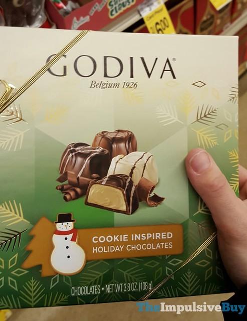 Godiva Cookie Inspired Holiday Chocolates
