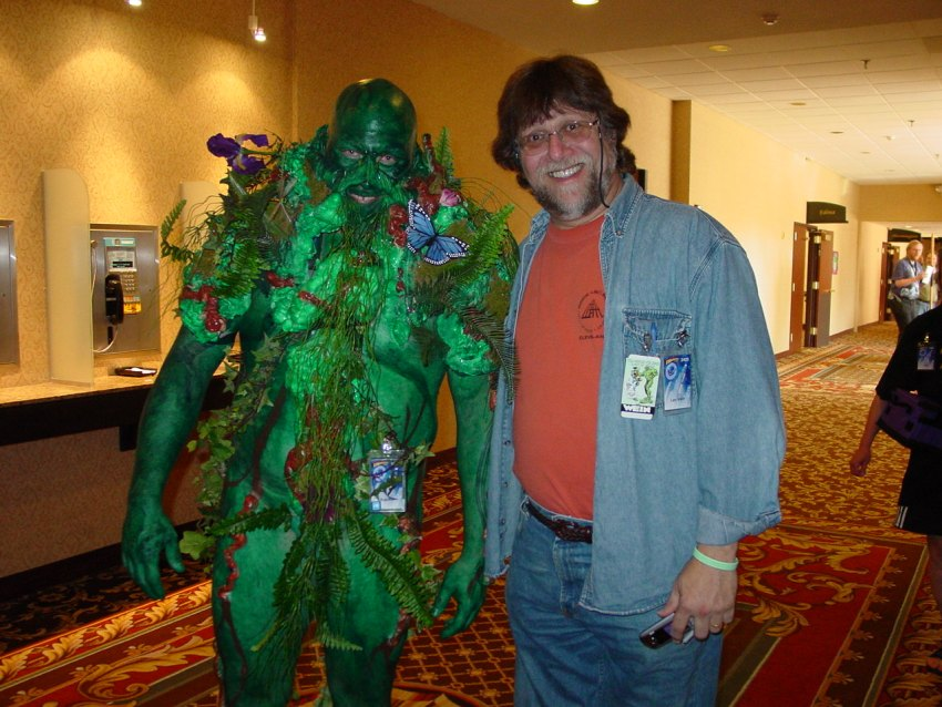 Swamp Thing & Len Wein at CONvergence 2005