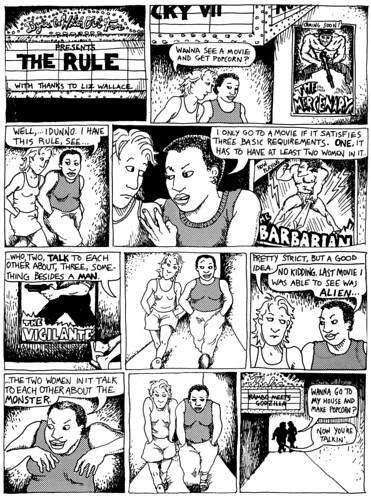 The Rule by Alison Bechdel