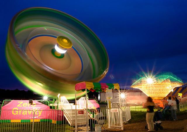 glowing wheel