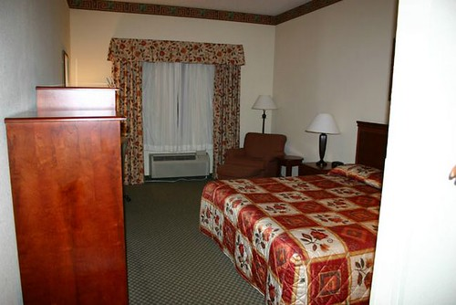 Holiday Inn Express Hotel Room, Forest MS
