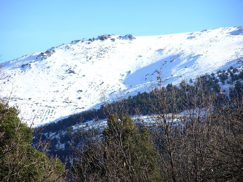 Valsain La Granja Segovia senderismo