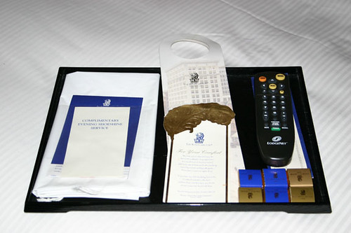 Bed Tray, Ritz Carlton in New Orleans
