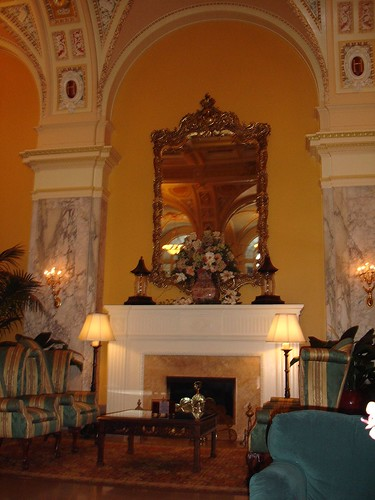 Lobby, The Hermitage Hotel, Nashville TN