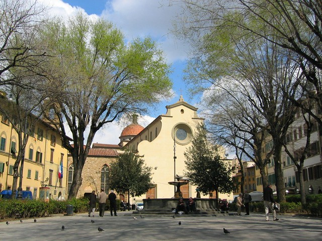 Piazza Santo Spirito, Florence by Scottiddle, on Flickr