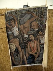 workers on canvas
