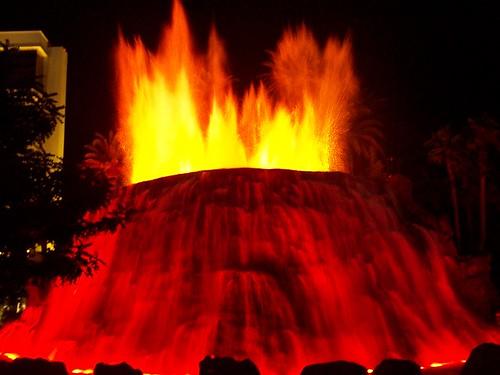 mirage volcano photo