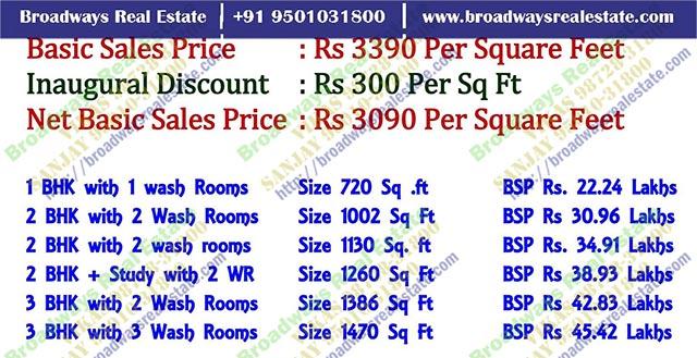 omaxe 3bhk flats resort mulllanpur