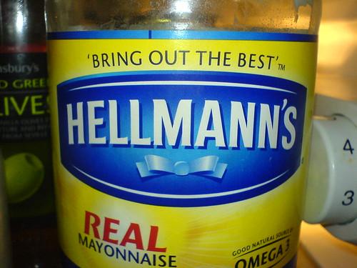Hellman's mayonnaise