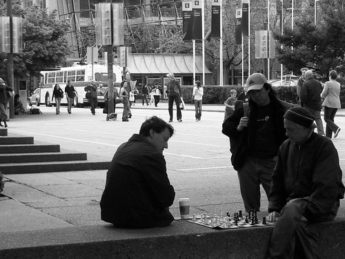 Chess in Robson Square