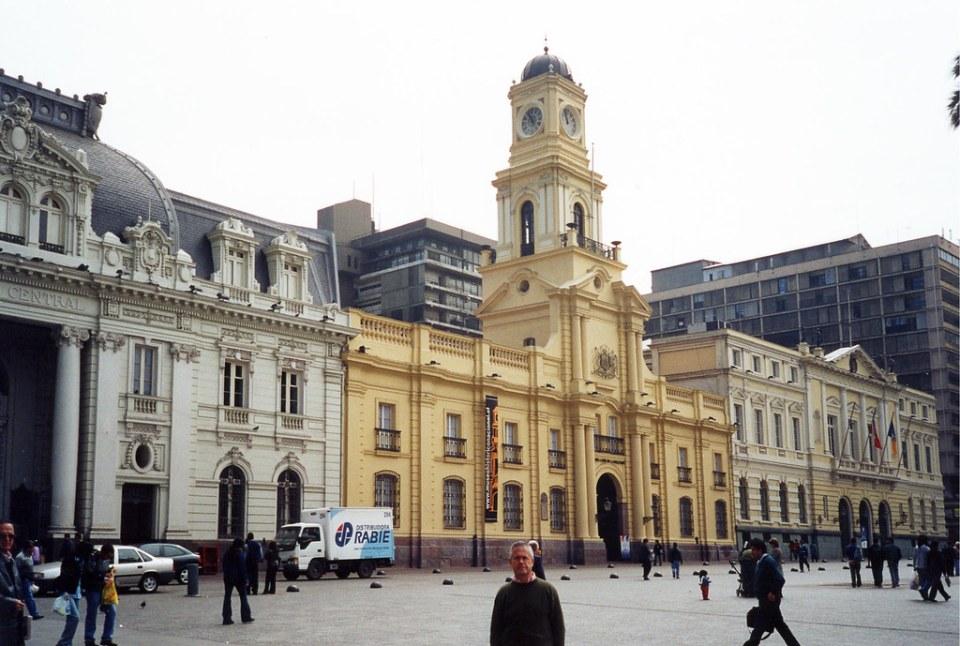 Correos Central y Palacio de la Real Audiencia Museo de Historia Nacional Plaza de Armas Santiago de Chile 08