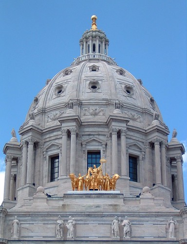 Picture of the Minnesota State Capitol dome.