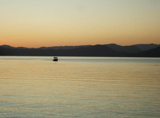 Sunset Over Lake Waikaremoana
