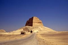 Collapsed pyramid of Sneferu, Meidum, Egypt