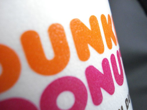 dunkin donuts cup