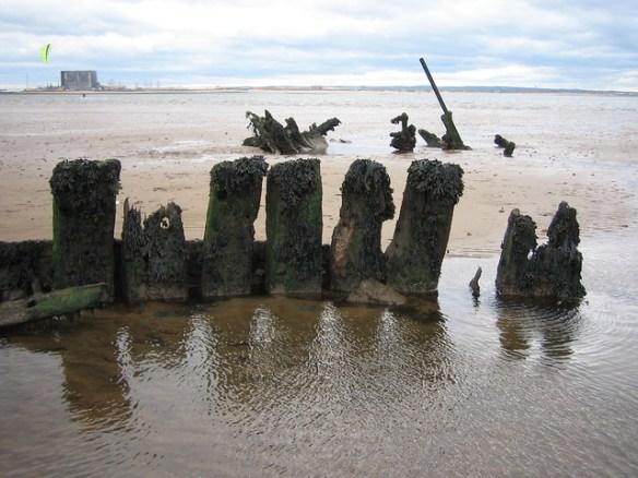 Bran Sands Shipwreck 1