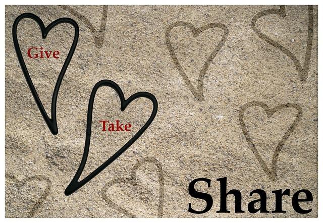 Give, take 'n share
