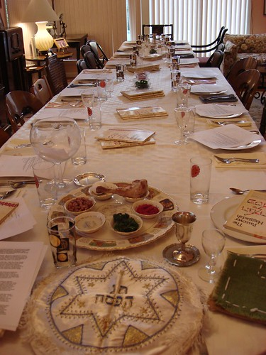 Passover Seder Table Set
