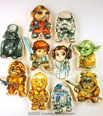 Mini Starwars characters