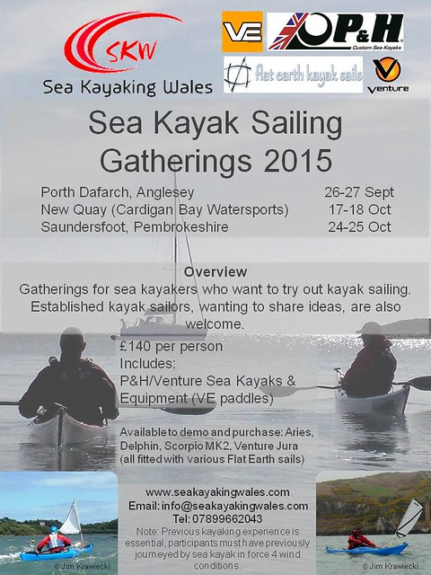 Sea Kayak Sailing Gatherings 2015