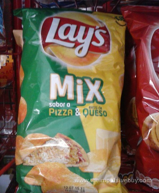 Lay's Mix Sabor a Pizza & Extra de Queso