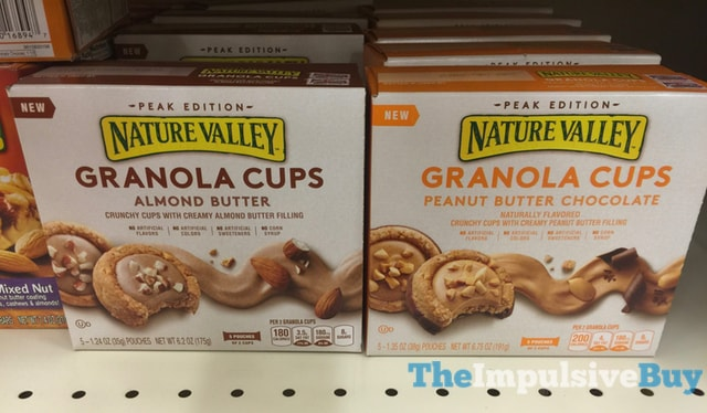 Nature Valley Peak Edition Granola Cups (Almond Butter and Peanut Butter Chocolate)