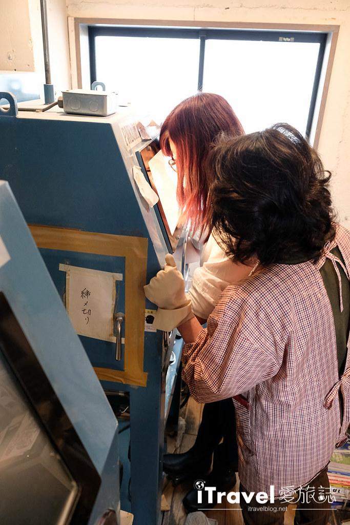 东京手作课程 喷砂玻璃工艺体验 33