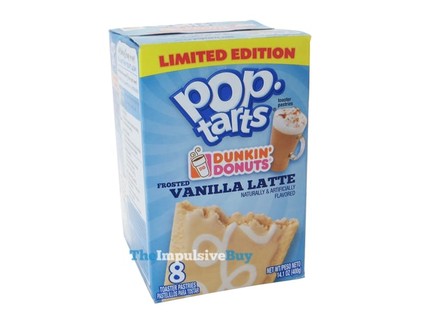 Limited Edition Dunkin' Donuts Frosted Vanilla Latte Pop-Tarts