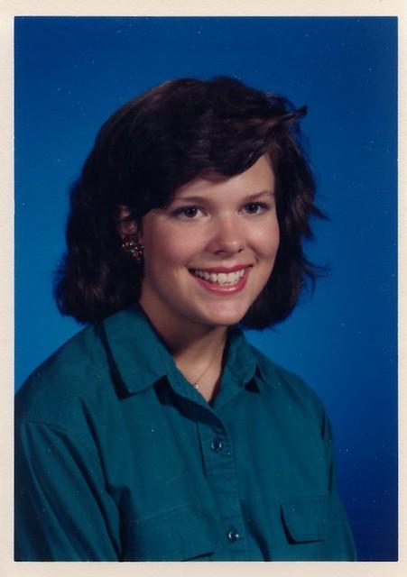 Ginger School Pic 1987