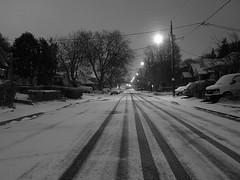 Cordella Ave. at Night.