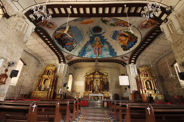 Immaculate Conception Parish Church in Balayan, Batangas (Interior)