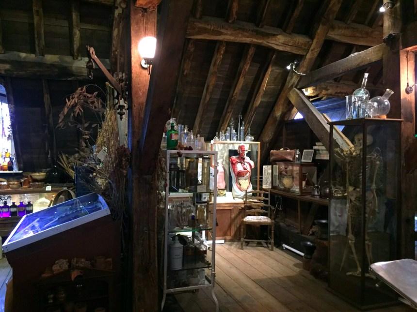Interior del Herbolario y antiguo quirófano de la Torre de St. Thomas El antiguo quirófano escondido de Londres El antiguo quirófano escondido de Londres 19846138064 76224342bd o