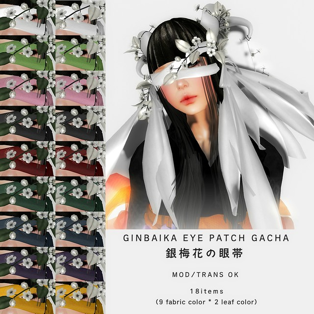*NAMINOKE*GINBAIKA EYE PATCH GACHA