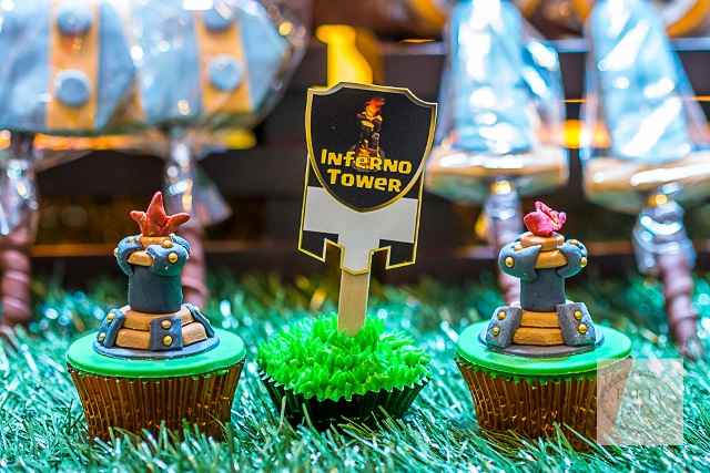 clash of clans theme party