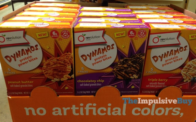 Revolution Foods Dynamos Protein Power Bites (Peanut Butter, Chocolatey Chip, and Triple Berry)
