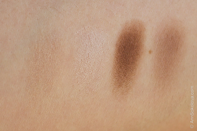 09 Clarins #13 Skin Tones Eye Quartet Mineral Palette Long Lasting Wet & Dry