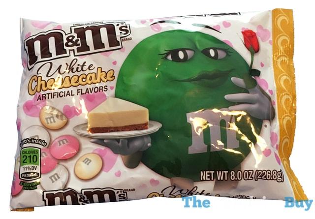 M&M's White Cheesecake