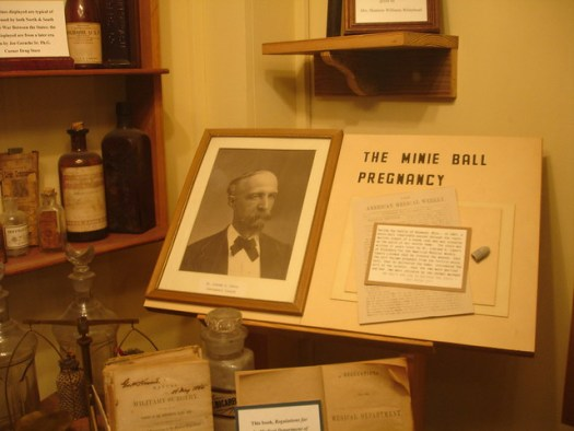 Famous Minie Ball Pregnancy : Old Courthouse Museum, Vicksburg MS