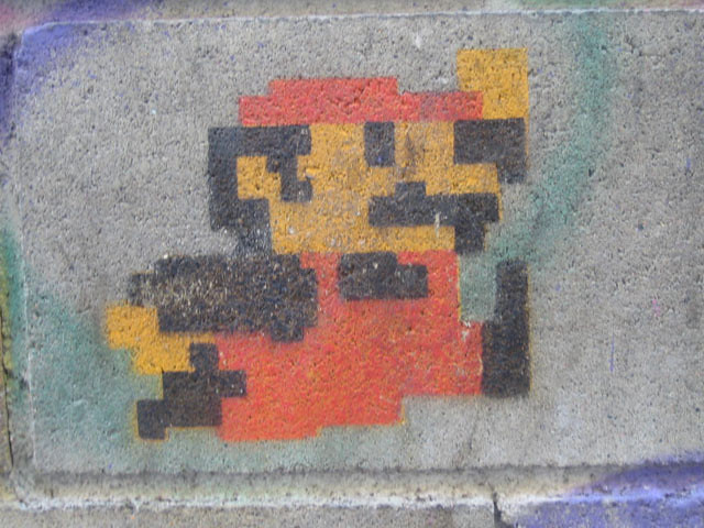 Mario Stencil