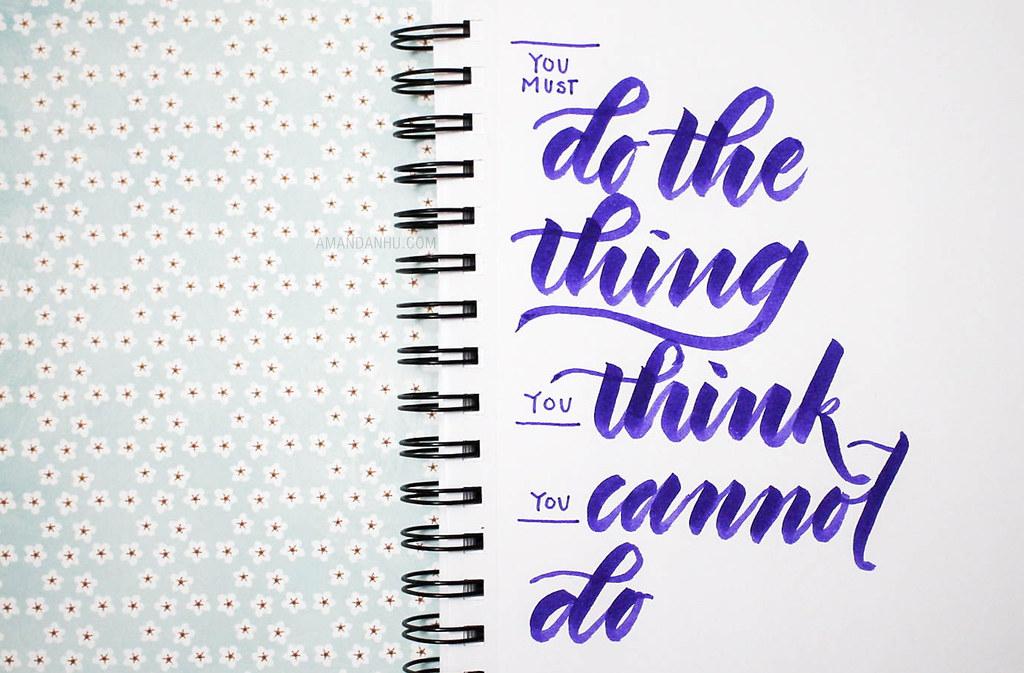 brush pen quote 4