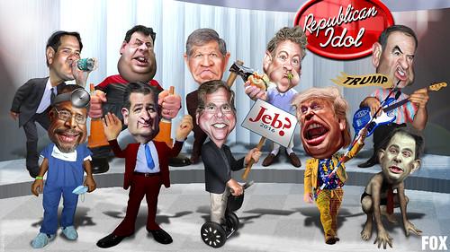 FOX Debate Republican Idol