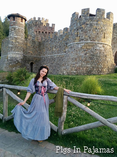 A maiden and a castle