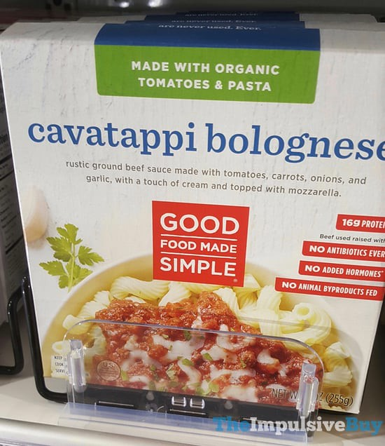 Good Food Made Simple Cavatappi Bolognese